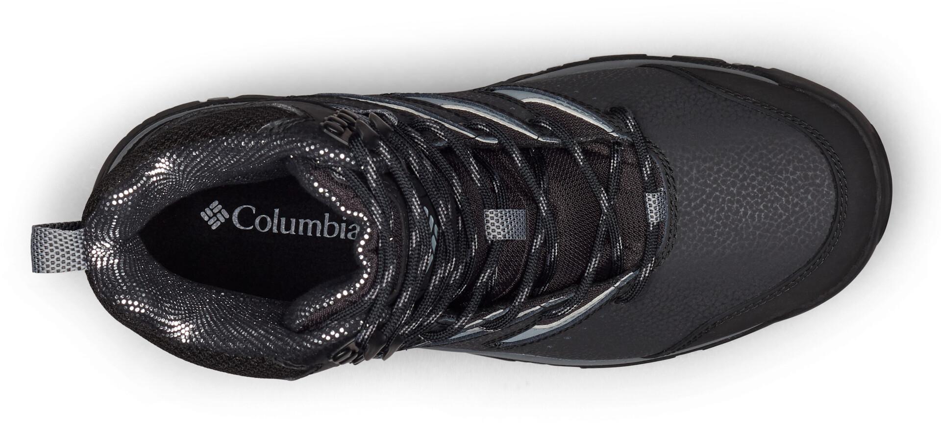 Columbia Gunnison II Omni Heat Chaussures Homme, blackti grey steel